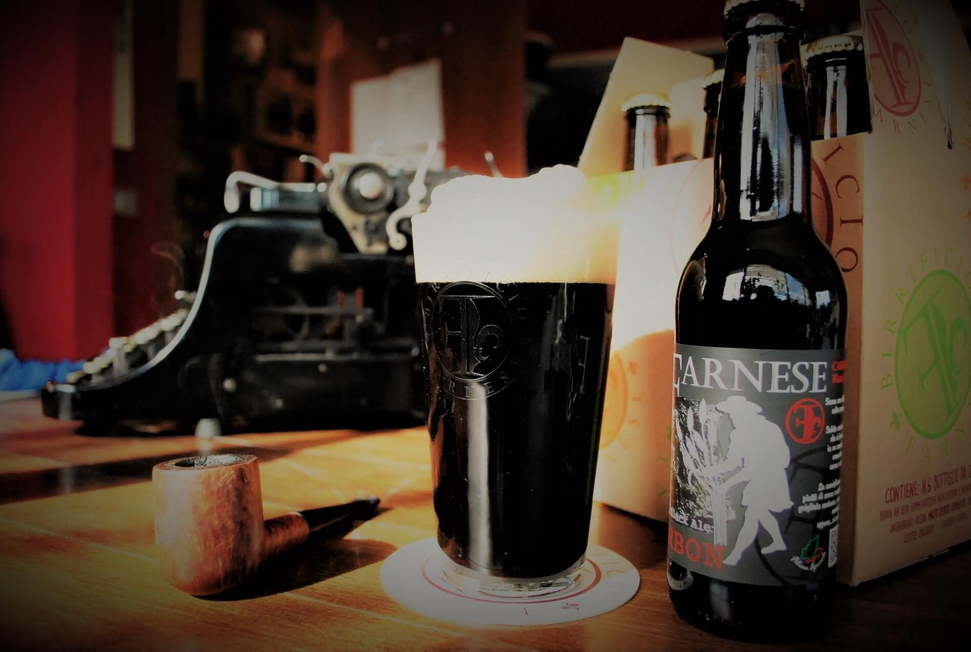 Una birra alla settimana:<br>Carbon, scura e sorprendente.