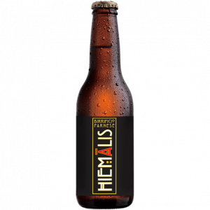 """Hielmālis<p class=""""dett"""">Belgian Dark Strong Ale</p>"""